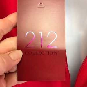 212 Collection Dresses - 212 Collection Rowdy Red Ponte Dress Sz L